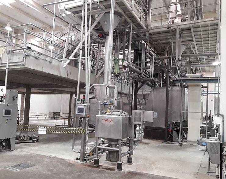 Fábrica de equipamentos para indústria de alimentos